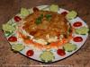 Салат Лесная полянка с опятами