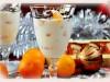 Десерт  Мандарины в белом...