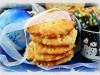 Песочное печенье с орехами и сахарной крошкой