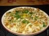 Красивый салат с жареной капустой