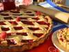 Малиново-яблочный Линцер-пирог