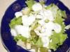 Салат «Зелёнка» с фруктами