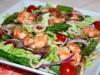 Салат с креветками,кальмарами и спаржей