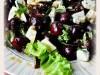 Салат с черешней и голубым сыром
