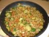 Пшеничная каша с овощами