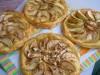 Французские яблочные ватрушки