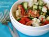Овощной салат с цветной...