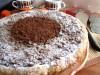 Яблочный  пирог  с  шоколадно-миндальной   крошкой