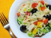 Салат по-средиземноморски (с пастой Orzo)