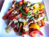 Тёплый салат из сковородки