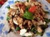 Салат с индейкой, обжаренной в итальянских травах