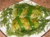 Жареные голубцы из молодой зеленой  капусты