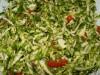 Салат со свежей капустой и помидорами