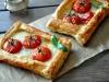 Тарты с помидорами и сыром