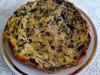 Пирог из шпината и консервированной рыбы в мультиварке