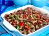 Салат с фасолью,орехами и...