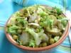 Салат из фриссе, зелёного...