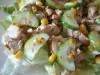 Зеленый салат с курицей и...
