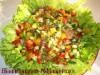 Салат из копченых консервированных устриц