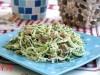 Салат с капустой и тунцом