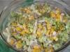 Салат с брокколи, огурцом...