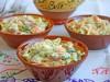 Салат из капусты с печенью трески