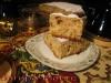 «Горячительный» яблочный пирог быстрого приготовления