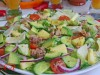 Салат с ананасом,авокадо и тунцом