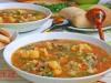 Суп томатный с цветной...
