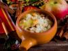 Каша рисовая с тыквой и яблоками
