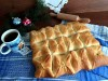 Мясной пирог «Зимний узор»