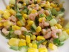 Салат с креветками, крабами или раками