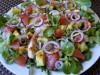 Салат «Весеннее вдохновение» с курицей,авокадо и грейпфрутом