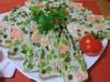 Террин с лососем и овощами