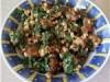 Салат из кабачков с орехами