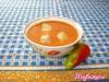 Венгерский суп-пюре из паприки с галушками
