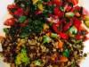 Каша гречневая с чечевицей и брокколи