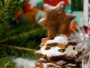 «Ёлочка» из шоколадного печенья