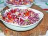 Салат с краснокочанной...