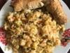 Рис с капустой и овощами