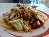 Овощной салат с имбирной заправкой