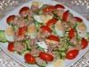 Салат с тунцом, огурцом и...