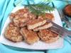 Оладьи  из мясного фарша (с разными соусами)