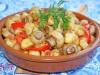 Картофель,тушеный с грибами