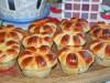 Булочки-маффины с творогом и ягодами(маком)