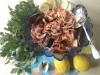 Ракушки и мидии с вермишелью под сладким чили соусом