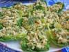 Закуска из авокадо в салатных«лодочках»