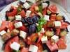 Салат с помидорами и баклажанами